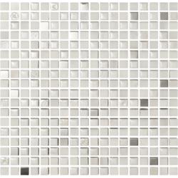 Mexical Modern Snow Metal 30x30 30x30 cm Boxer Mosaics Idee