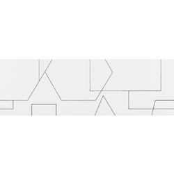 Decor Rayures Blanco 29x89 89x29 cm Azulev Luminor