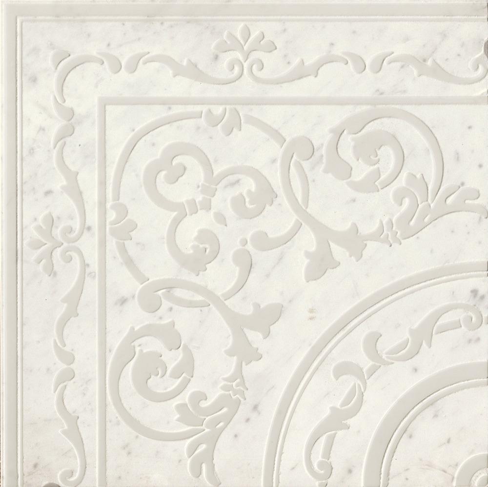 Roma Diamond Fap Ceramiche carpet carrara corner ins. 60x60 - collection roma diamond