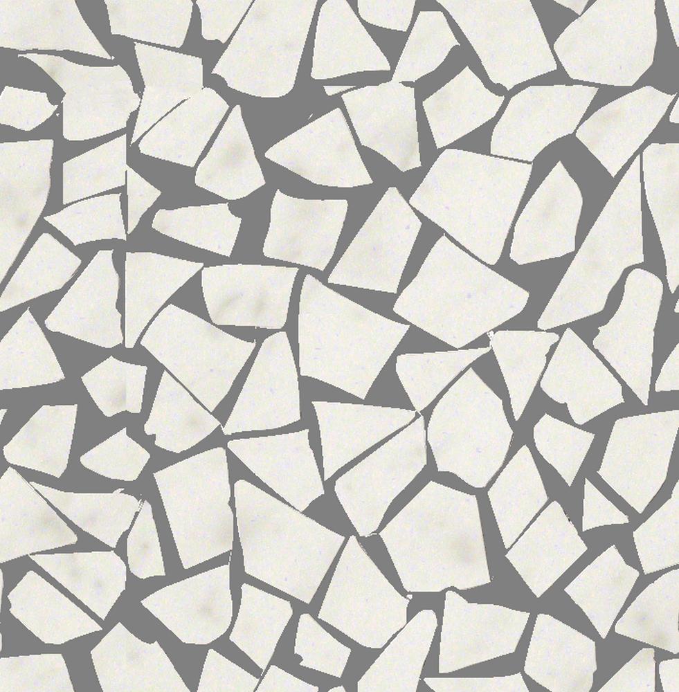 Roma Diamond Fap Ceramiche carrara schegge gres mos. 30x30 - collection roma diamond by