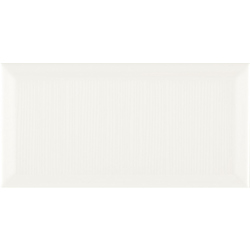 BOULEVARD COTTON WHITE 20x10 cm ZYX Metropolitain