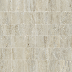 Vision Mosaico 5x5 Travertino Natural 29,5x29,5 cm Trial Ceramica by Cotto Petrus Vision