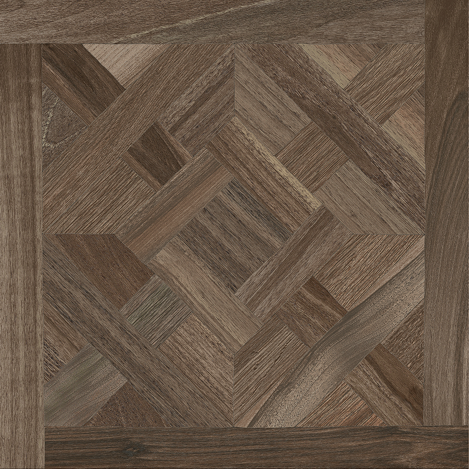 Wooden Decor Walnut 80x80 Collection