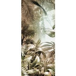mowgli centr 126x300 cm Inkiostro Bianco Jungle