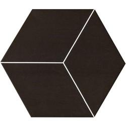 RHOMB BLACK M.(3D036) 20X23*A 23x20 cm Boonthavorn Ceramic Gelato