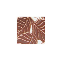 Wood L decor leaf 98x98g 9.8x9.8 cm Keramin Wood