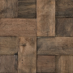 Wood Square Aged 3D 29,7x29,7 cm L'Antic Colonial Wood Mosaics