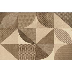 Decoro Plate Beige 38x25 cm Marazzi Cast
