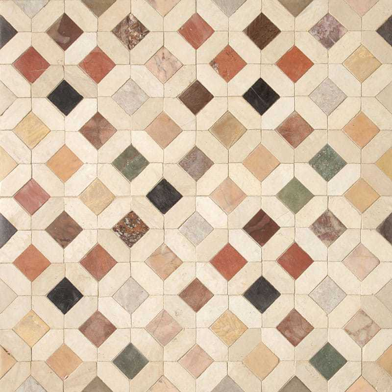 Dougga Honed 11 5 8x11 5 8 Limestone Best Sellers Mosaics Collection Baba Chic By Country Floors Tilelook