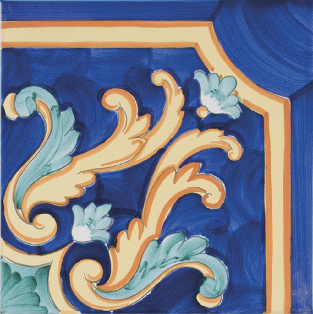 20X20 CLASSICO VIETRI San Michele Blu - Collection 07