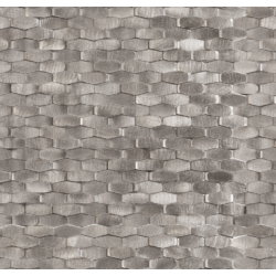 Halley Silver 28,4×30 30x28.4 cm Dune Materia Mosaics