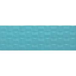 POTTERY TURQUOISE STRUTT.CUBE 3D 76x25 cm Marazzi Pottery