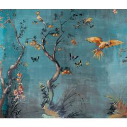 Ibis 315x270 cm Inkiostro Bianco Jungle