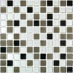 "CLASSIC GRAY (1"") 12X12 A 30x30 cm Boonthavorn Ceramic Advanced Glasstiles"