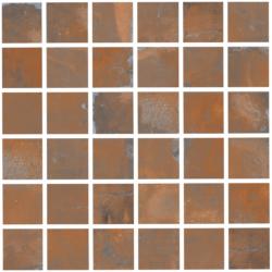 Oxyd Corten Mosaico 30x30 30x30 cm Ceramica Rondine Oxyd