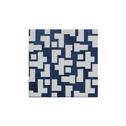 Pennellato Big Blu 20x20 - Collection Tris by Arcea